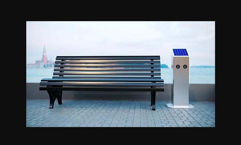Solar Phone Charging Station